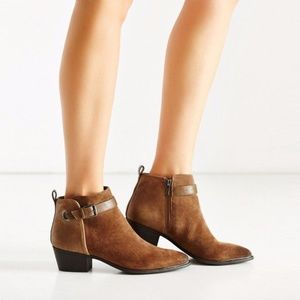 Circus By Sam Edelman Harlow Ankle Boot Tan Suede